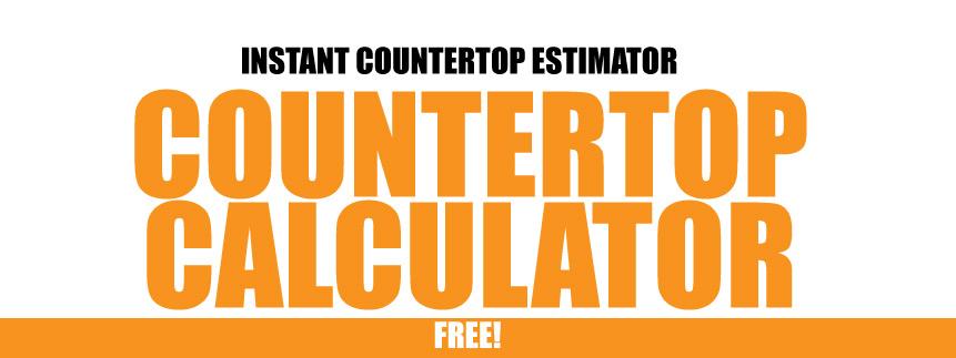 Granite countertop calculator price prg design fireups for Cost of quartz countertops per square foot